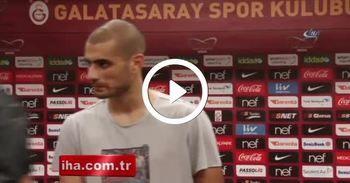 Eren Derdiyok, son dakika golünü taraftara armağan etti