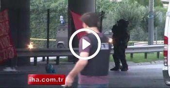Okmeydanı'nda şüpheli paket polisi alarma geçirdi