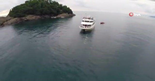 Giresun Adası turistlerin yeni gözdesi