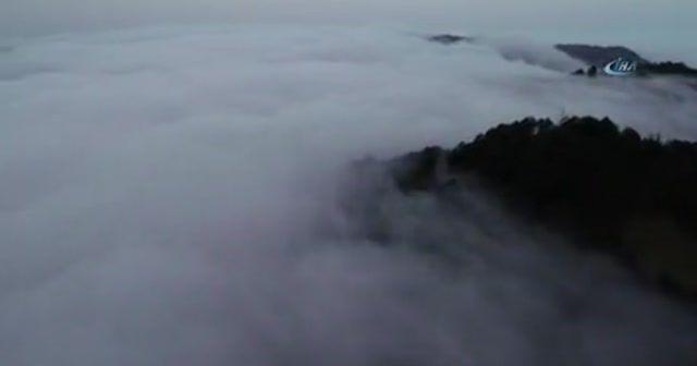 Karadeniz'de sis denizi