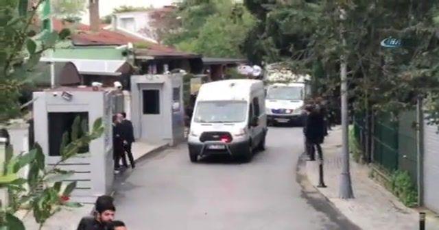 Türk polisi başkansolosun konutuna girdi