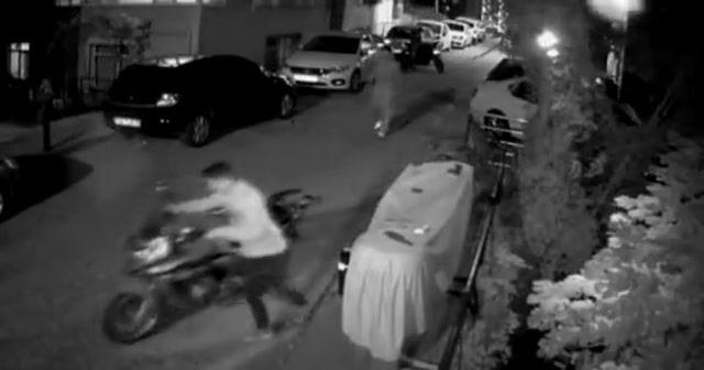 Deposunun boş olması motosikleti çalınmaktan kurtardı