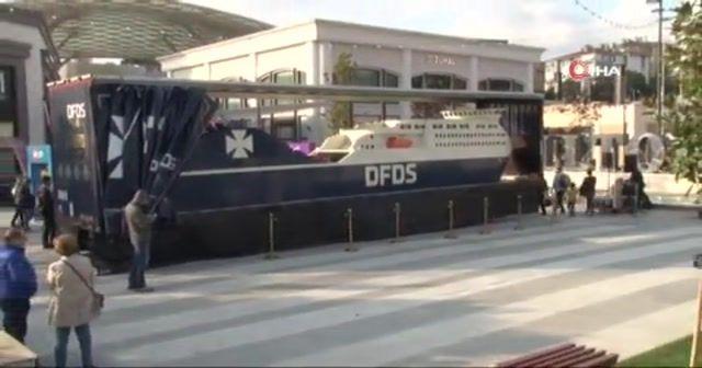 Dünyanın en büyük lego gemisi Türkiye'de