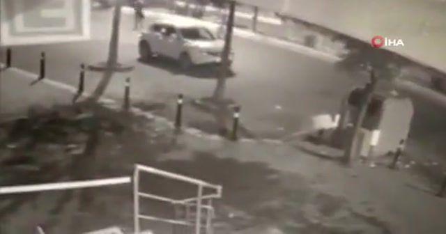 İstanbul'da otomobilde infaz anları kameralara yansıdı