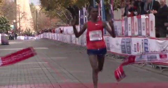 İstanbul Maratonu'nda çifte rekor