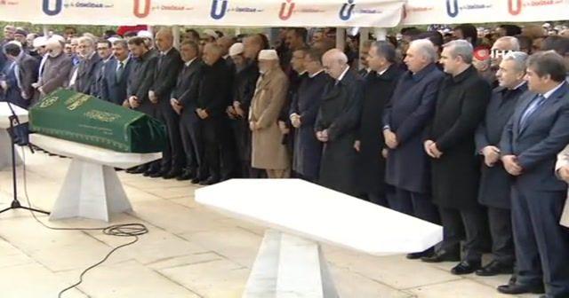 Tivnikli'nin cenaze törenine Erdoğan da katıldı