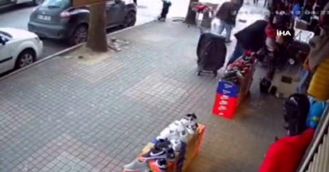 Hırsızın rahatlığı pes dedirtti