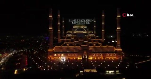 Büyük Çamlıca Camii Kadir Gecesi'nde doldu taştı