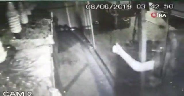 Bekçi düdüğünü duyan hırsız kayıplara karıştı