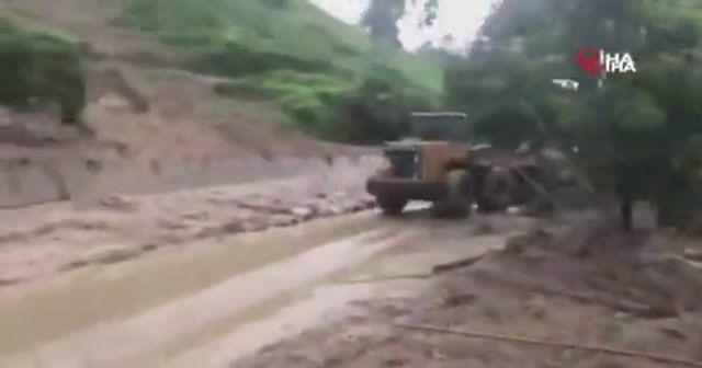 Çin'de heyelan: 15 ölü