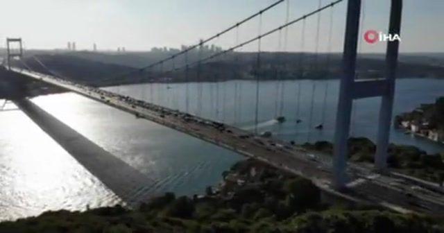 FSM Köprüsü 31 günlük çalışmanın ardından ulaşıma açıldı