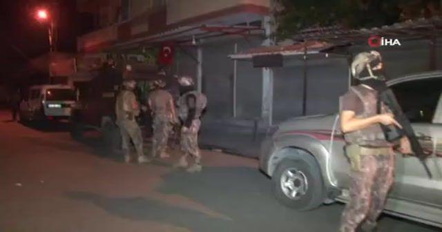 Adana merkezli 5 ilde dev çete operasyonu: 74 gözaltı kararı