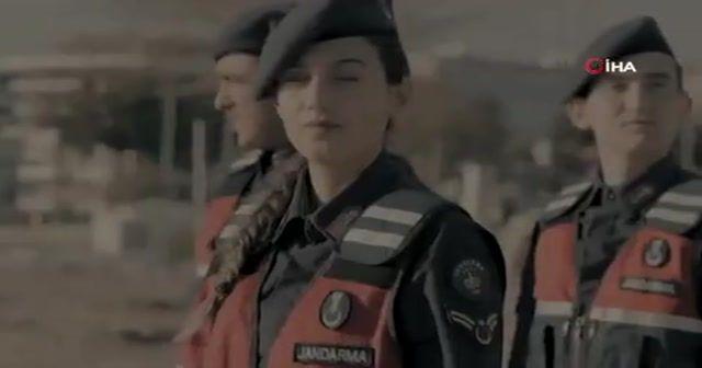 Jandarma'dan kadınlara özel jest