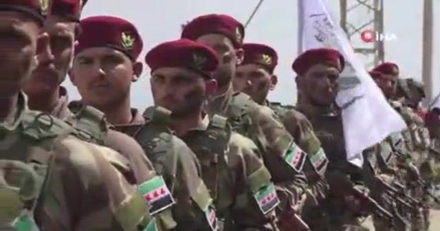 Suriye Milli Ordusu'ndan PYD-PKK'ya gözdağı