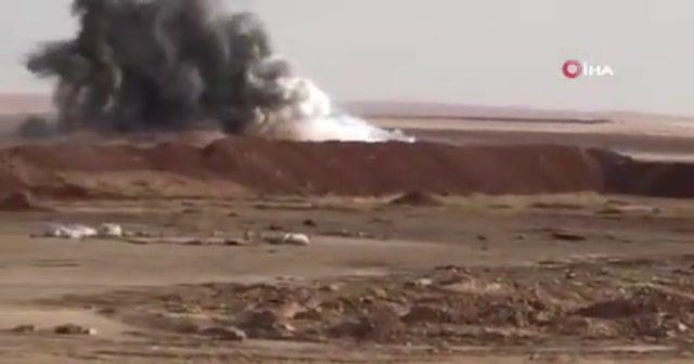 """Bakanlık açıkladı: """"Tel Abyad'ta bombalı araç imha edildi"""""""