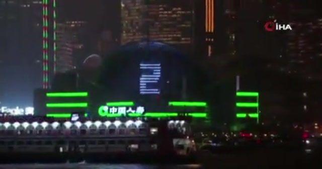Hong Kong, protestoların gölgesinde 2020'yi karşıladı