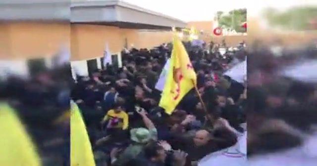 Trump, Bağdat Büyükelçiliğinde yaşanan olaylardan İran'ı sorumlu tuttu
