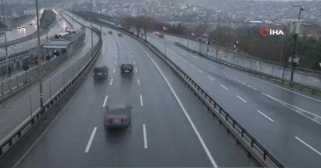 İstanbul yeni yılın ilk gününe sakin uyandı