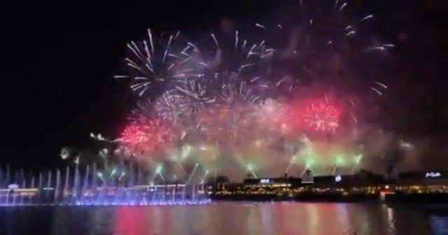Suudi Arabistan'da yeni yıl coşkusu