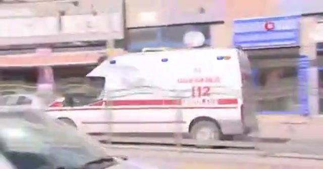 Yolcular tedbir amaçlı hastaneye götürüldü