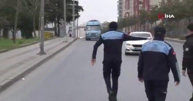 Fazla yolcu alan minibüsçüden tepki: 'Bizi kurtarmaz bu şekilde'