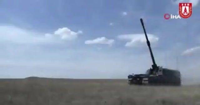 Fırtına Obüsler 'Bahar Kalkanı Harekatı'nda görevde