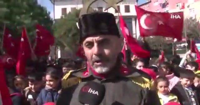İdlib şehitleri için İstanbul'dan Çanakkale'ye yürüyecek