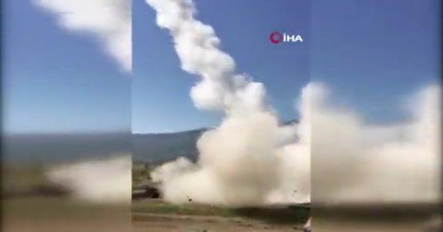 TSK yerli ve milli silahları ile Esad rejimine korku salıyor