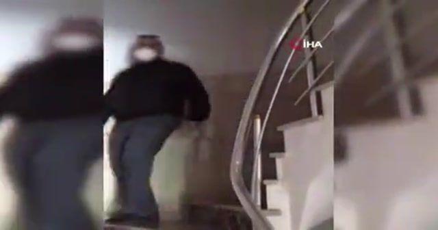 Bahçelievler'de baba-oğlu öldüren zanlı, polis ekiplerince yakalandı