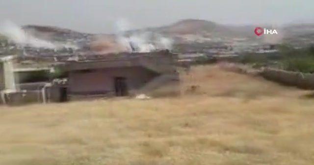 Suriye'de Esad rejiminden köylere hava saldırısı
