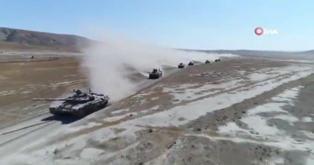 Azerbaycan-Türkiye ortak askeri tatbikatları devam ediyor
