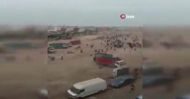 Fas'ta kurban pazarı karıştı, 20 kişi gözaltına alındı