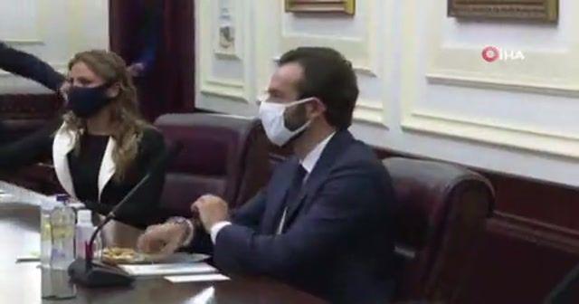 Bakan Gül, AİHM Başkanı Spano ile görüştü