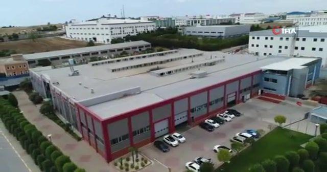Fabrikaların ortasında 'Topkapı Sarayı'