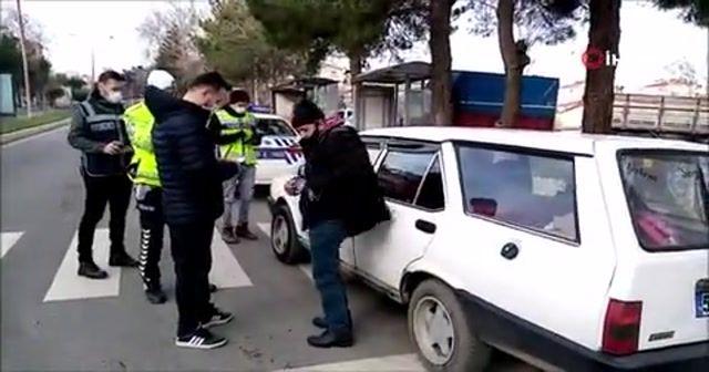 Emanet aldığı arabanın yakalamalı olduğunu öğrenince şaşkına döndü