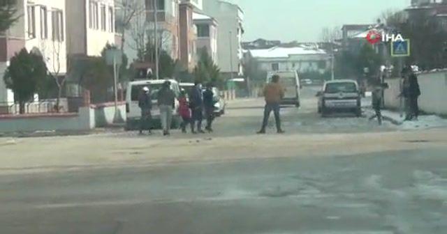 Havalar ısındı, çocuklar sokağa koştu
