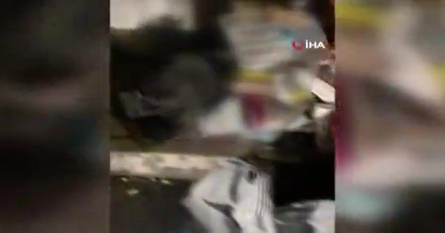Fatih'te kaçak tütün operasyonu: Yüzlerce kilo tütün ele geçirildi
