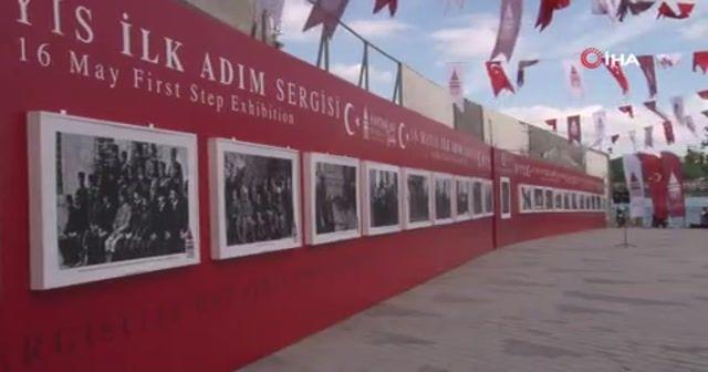 16 Mayıs İlk Adım Sergisi Galata Rıhtımı'nda açıldı