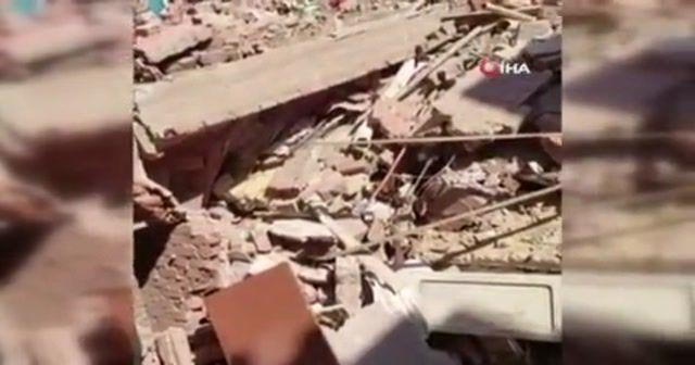 Mısır'da 6 katlı bina çöktü: 2 ölü